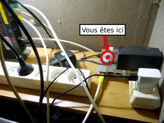 Mon Raspberry Pi.