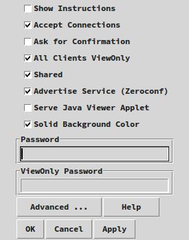 configuration VNC